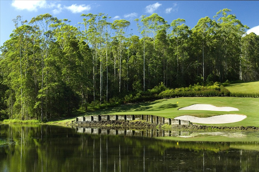 Bonville's 17th hole