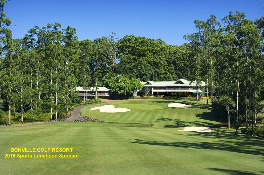 Bonville's 18th fairway & clubhouse - Copy