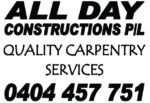 All Day Constructions Pty Ltd